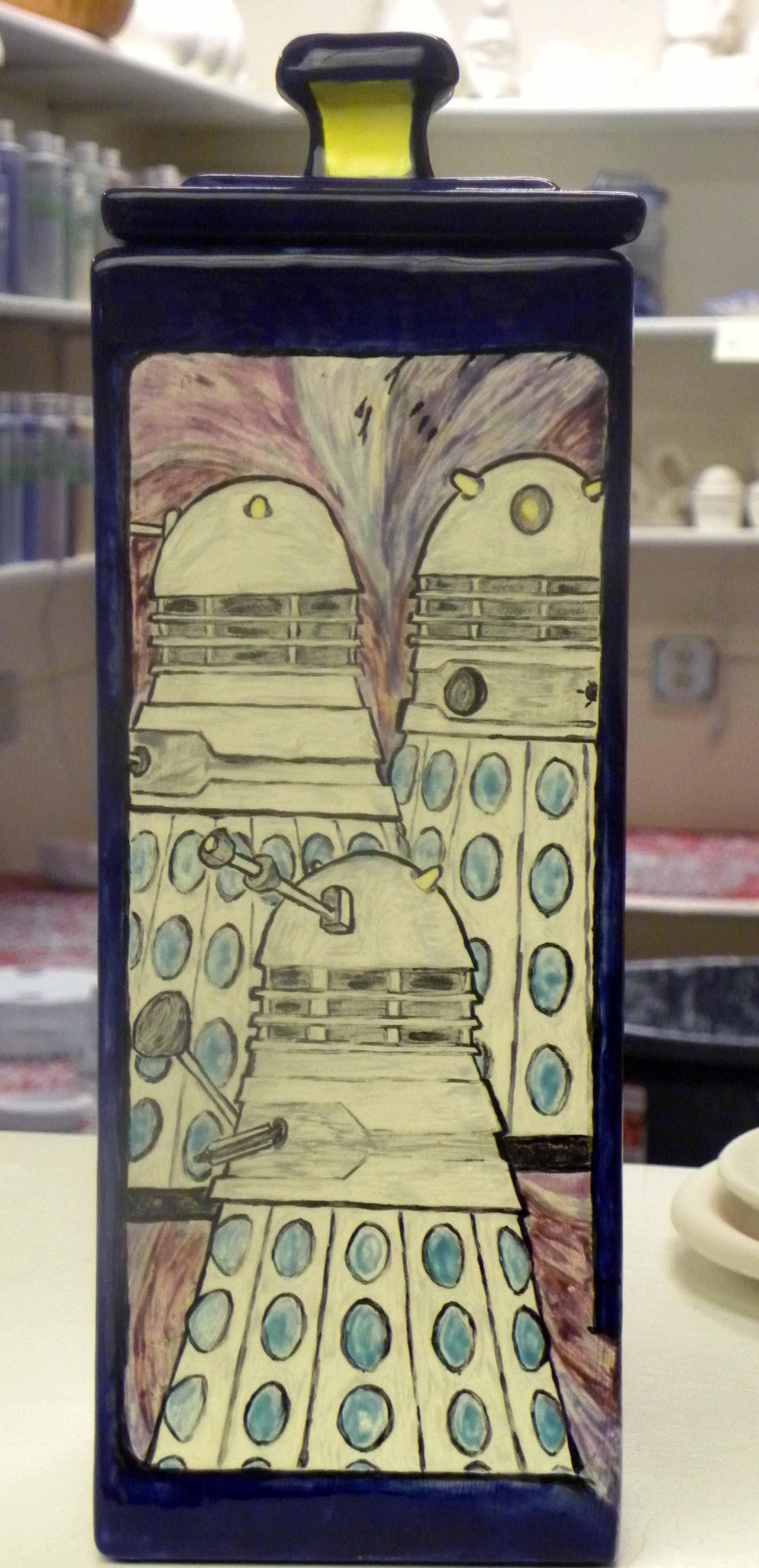 Dalek Mural